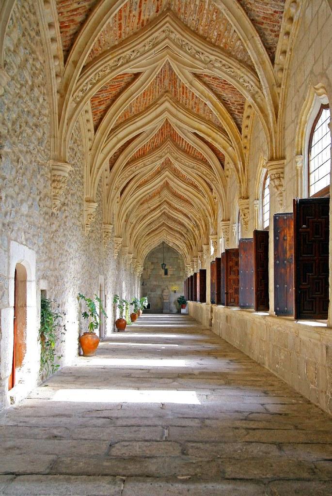 Cloister, Santa Maria del Paular, Spain