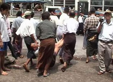 Protesters in Burma | by caseforfreedom