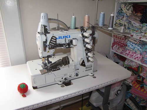 Juki MF-7723 Industrial Coverstitch Machine | by Apple Dumpling Gear