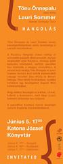 2010. június 1. 19:26 - Észt költők a Könyvhéten