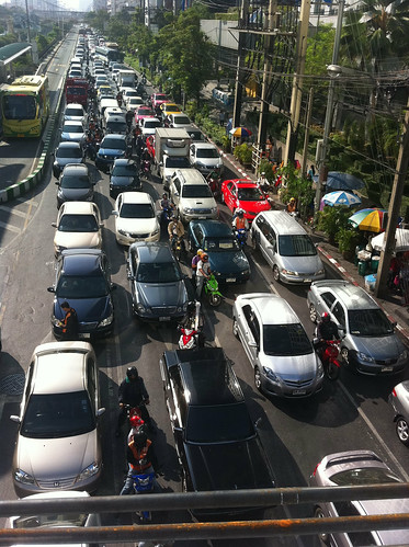 Friday traffic in bangkok | by Chengings