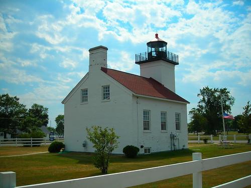 lighthouse mi michigan escanaba escanabami sandpointlighthouse