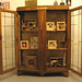 Cabinet, shadow box, assemblage