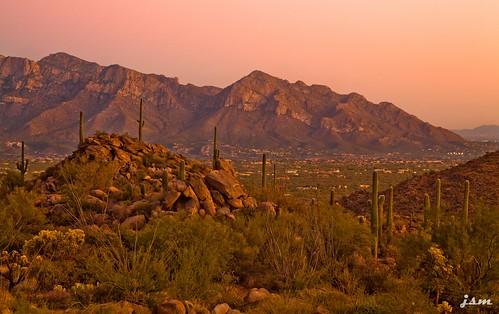 ranch santa arizona mountains catalina tucson ridge valley saguaro oro marana pusch mcclintocks