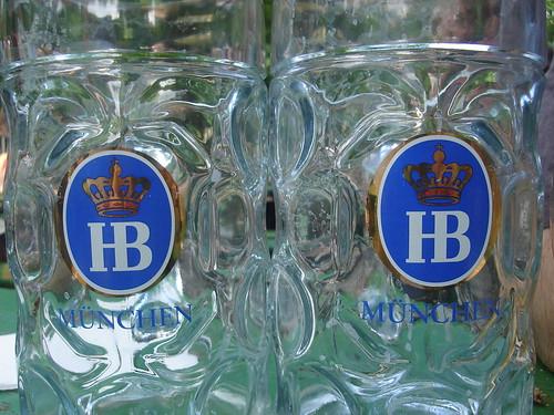 Hofbräu beer glasses | by mdid