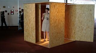 documenta 12 | Charlotte Posenenske / Drehflügel Serie E | 1967 (reconstruction 2007) | Aue-Pavillon | by A-C-K