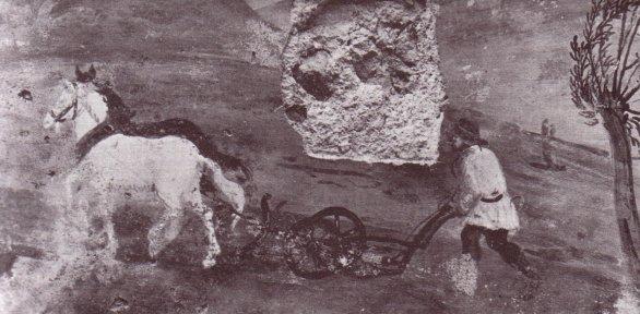 castel Beseno, aratura: ciclo dei mesi