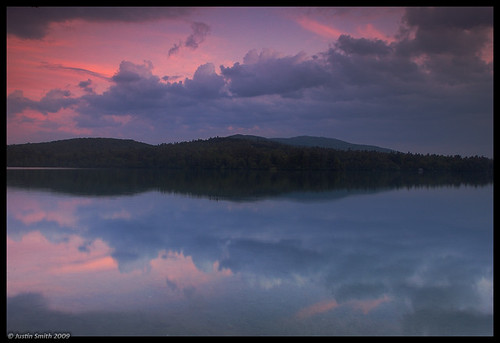 sunset reflection newhampshire nikond50 mountmonadnock justinsmith dublinlake nikon1735mmf28
