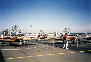 Photograph 0477 - Sale of RAAF CT4 Trainers at Bankstown Aerodrome May 1993