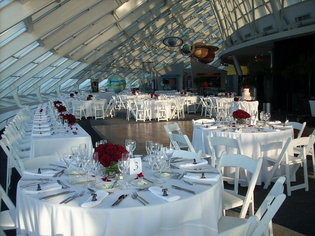 Adler Planetarium Wedding.Adler Planetarium Wedding Reception Wedding Reception Set Flickr
