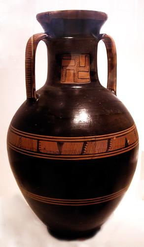 geometrica ceramica Museo Arqueologico Nacional de Atenas Grecia 180