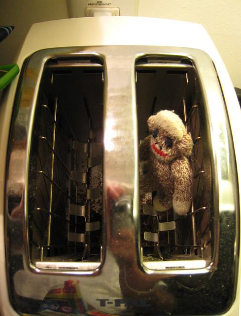 Terrorizing Your Sock Monkey Idea # 4