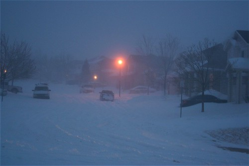 night 1 of the blizzard | by nucof