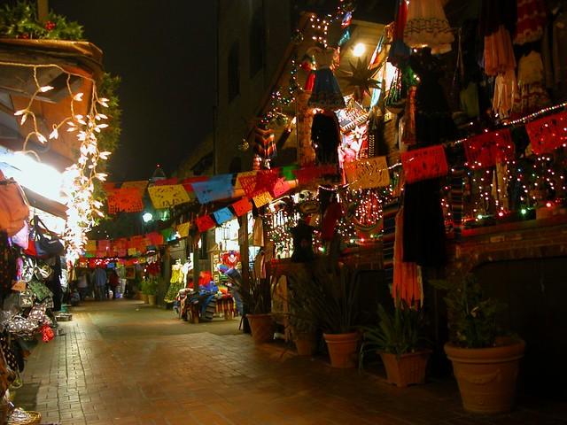 Olvera Street After Las Posadas Landruc Flickr