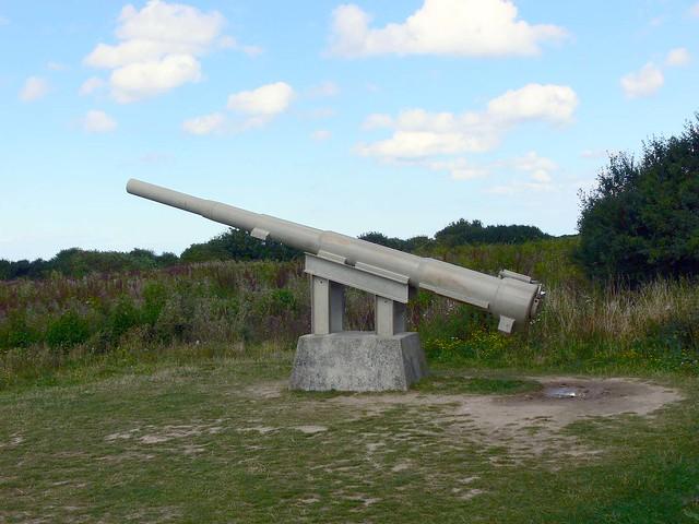 Pointe de Hoc Gun