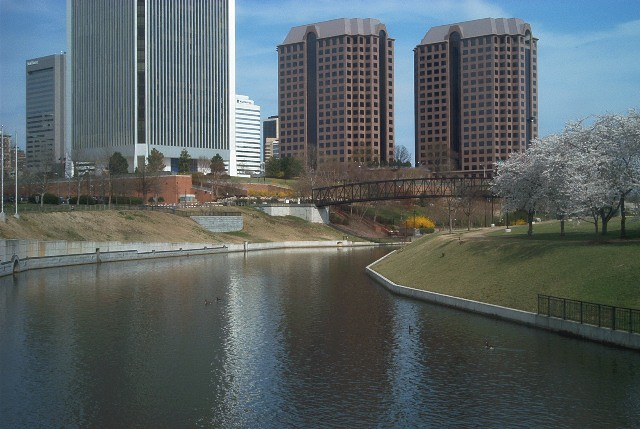 Downtown from the Canal Walk