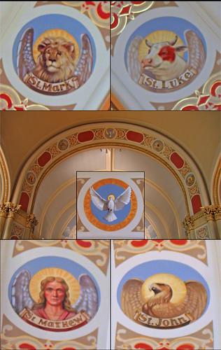 church john matthew mark dove luke holyspirit gospels
