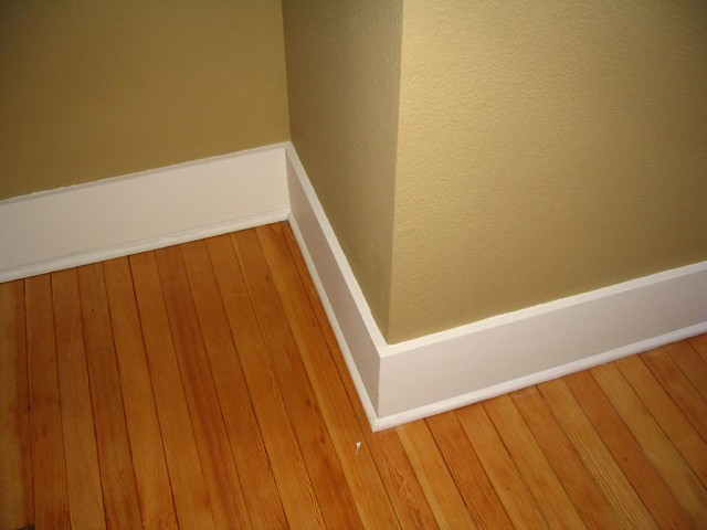 baseboard and trim painting