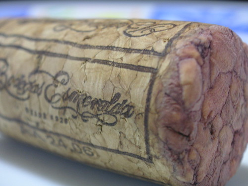 Macro cork with wine stain | by blmurch