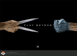 Playstation - Play Beyond 1 of 3 | by AdsMonkey.com