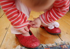 put on your red shoes... | by SouleMama