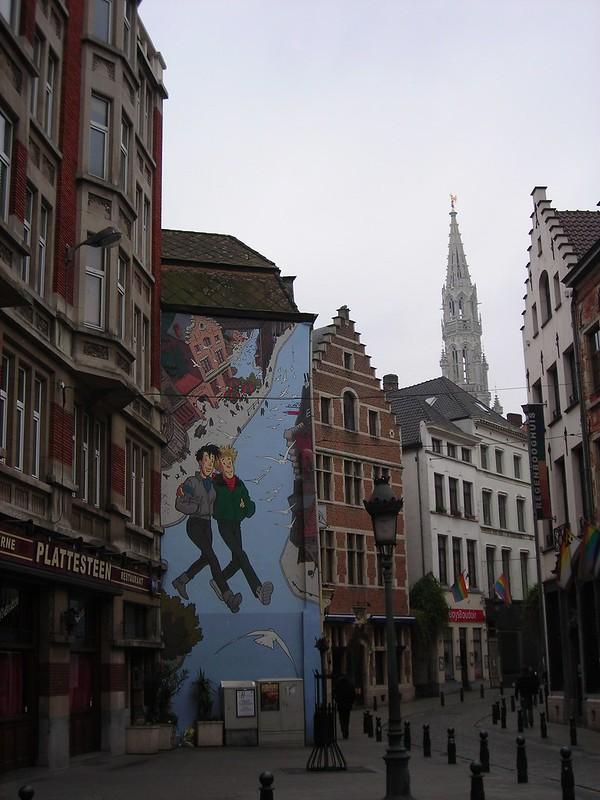 Bruxelles a fumetti