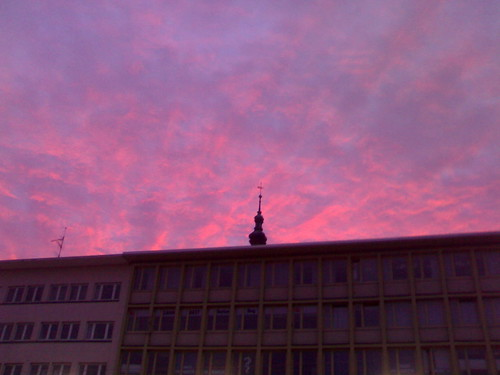 sky sunrise germany purple outdoor r1 mannheim badenwürttemberg