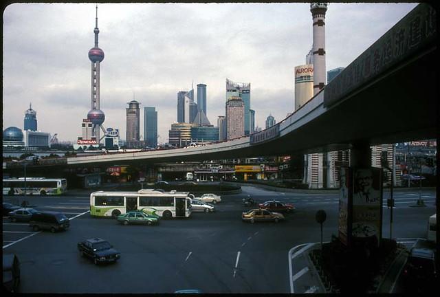 The Bund, Shanghai, China, 2005
