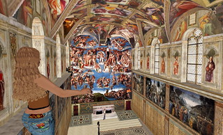 Sistine Chapel in Second Life 10 | by Gary Hayes