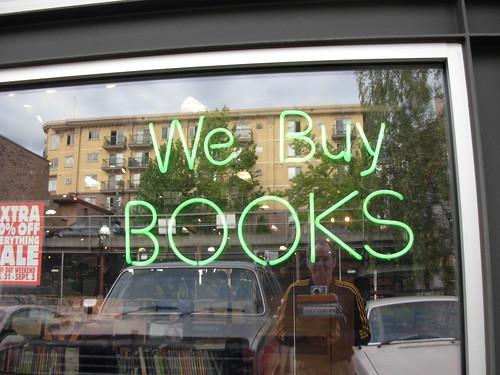 Self Portrait - We Buy Books, Half Price Books Capitol Hill, Seattle Washington | by brewbooks