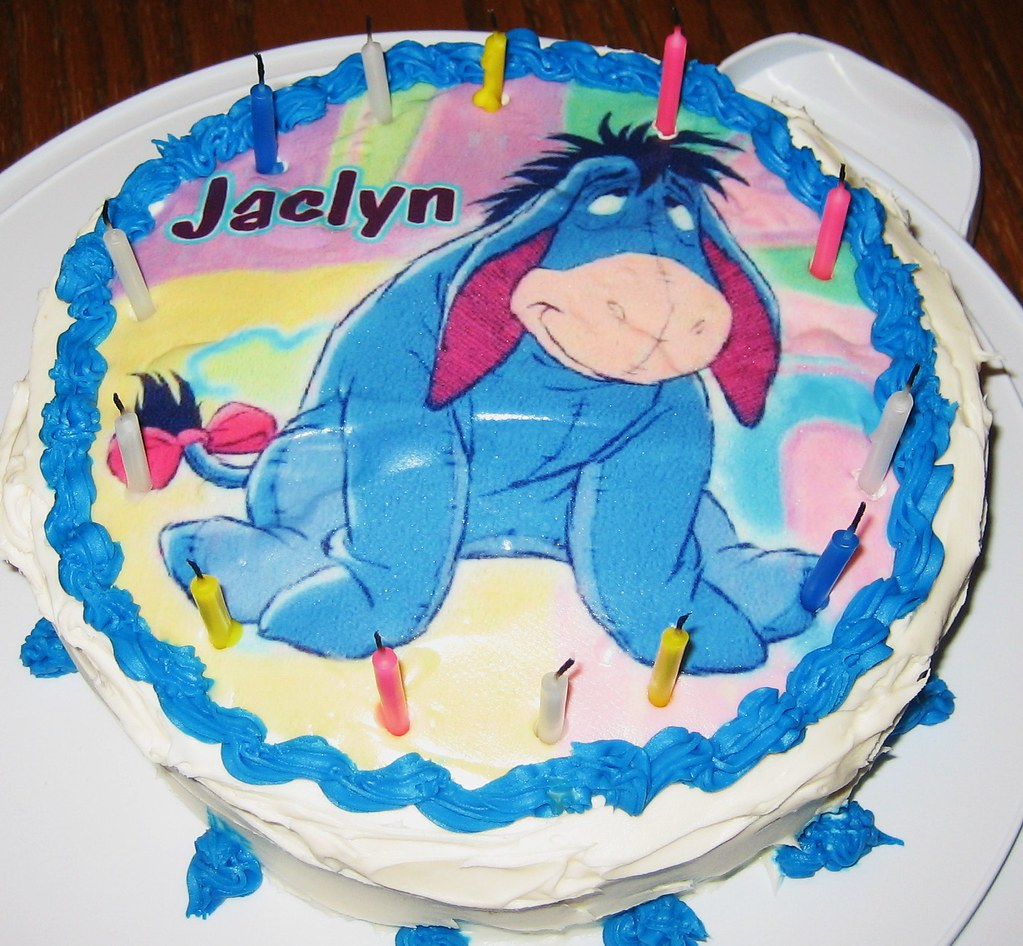 Outstanding Eeyore Birthday Cake Eeyore Birthday Party Supplies Find E Flickr Funny Birthday Cards Online Inifofree Goldxyz