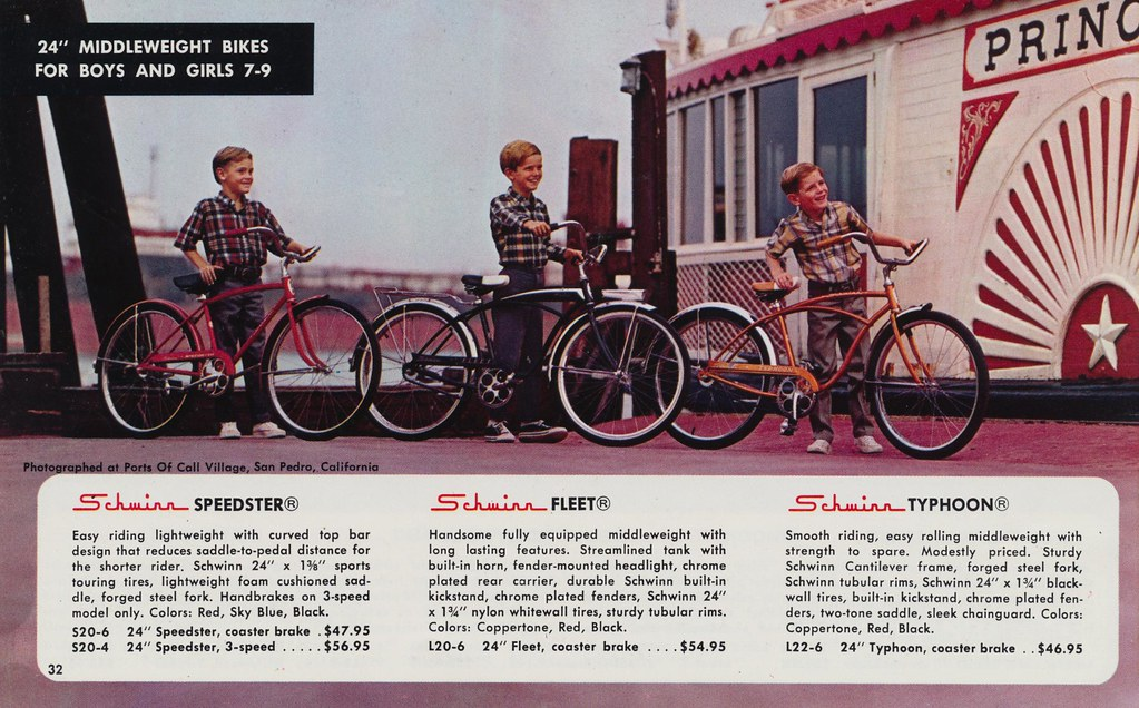 24 inch Middleweight Bikes For Boys | Page 32 of the 1968 Sc