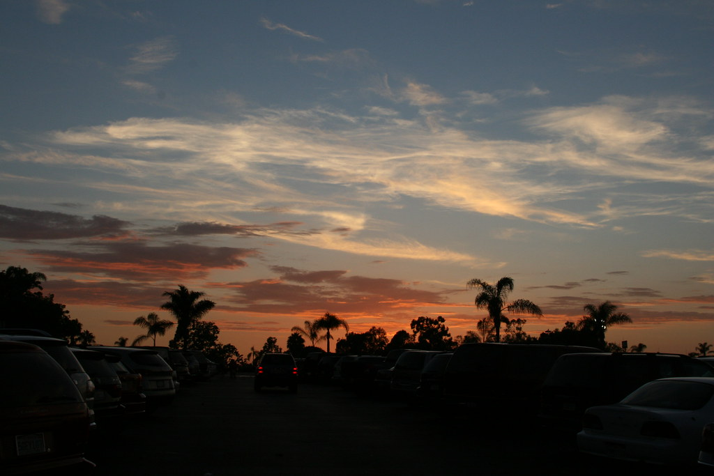 Sunset from the San Diego Zoo parking lot | San Diego Zoo