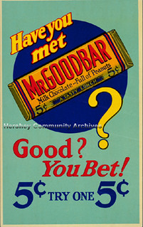 Hershey's Mr. Goodbar POP, ca.1930