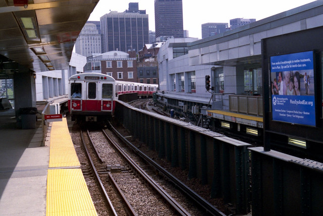 MBTA Station, Boston, 2010