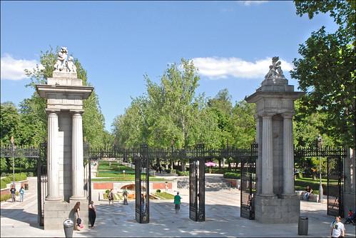L'entrée du parc del Retiro (Madrid) | by dalbera