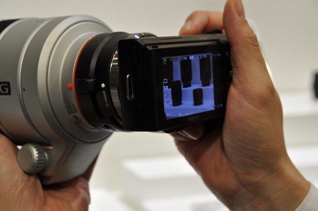 Sony Alpha NEX-5 Digital Camera