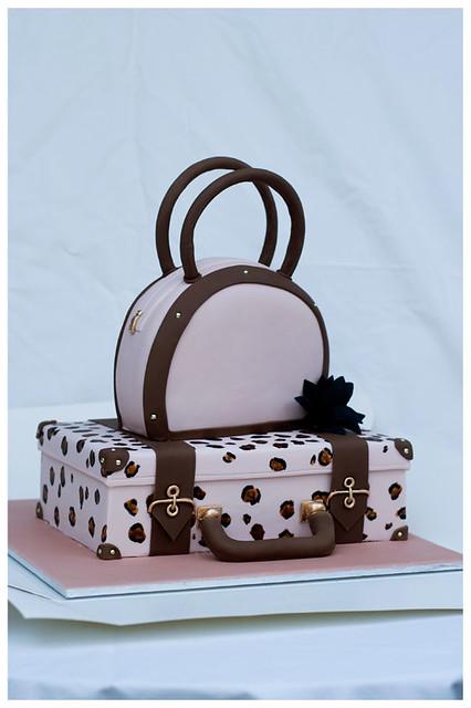 Suitcase/Handbag Cake