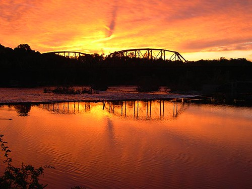 railroad morning bridge urban orange reflection train sunrise dawn newjersey downtown pennsylvania dam nj rr pa lh confluence delawareriver truss lehighriver eastonpa cnj blueribbonwinner phillipsburgnj platinumphoto forksofthedelaware crrnjbridge centralrailroadofnewjerseybridge lehighandhudsonrailroad
