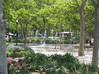 Battery Park Fountain   by Nerdimus Prime