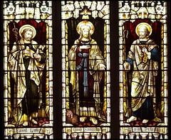 St Luke, Good Samaritan, St Peter