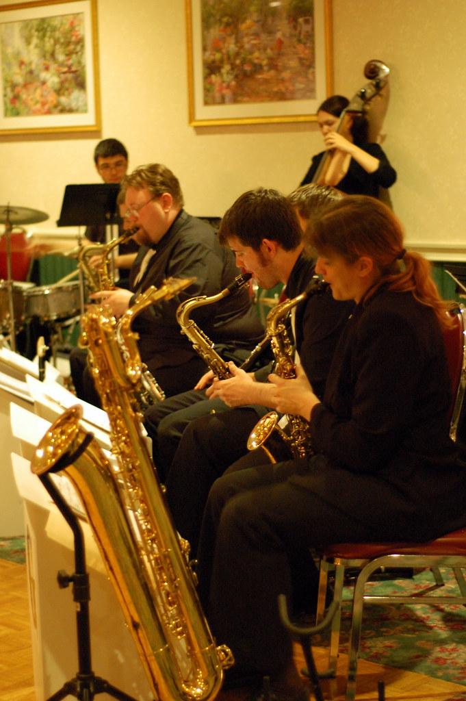 Beantown Swing Orchestra Brass The Beantown Swing Orchestr