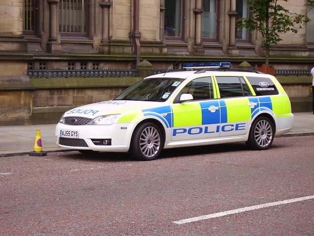 POLICE FORD MONDEO AJ55GYS
