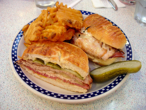 Sandwich @ Tick Tock Diner - 481 8th Ave | by wEnDaLicious