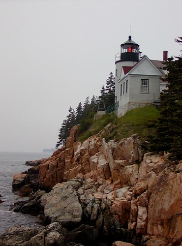 Stormy Bass Harbor Head | by justinrussell