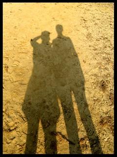 Shadows on sand | by Davide Restivo