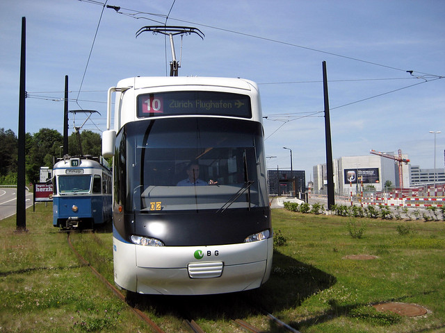 Tram Zürich Serie Be 4/6 1601 - 1726 und Serie Be 5/6 3001 - 3088