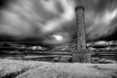 Peel Tower, Infrared | by Alan Stenson