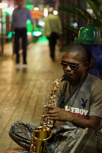Sax in the City   by crossmage