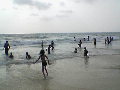 india beach nature scene karnataka mangalore kudla panambur panamboor